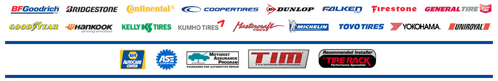 Tire Brands in Hendersonville, TN, Goodlettsville, TN, and Gallatin, TN at Mid Tenn Tire and Auto Service